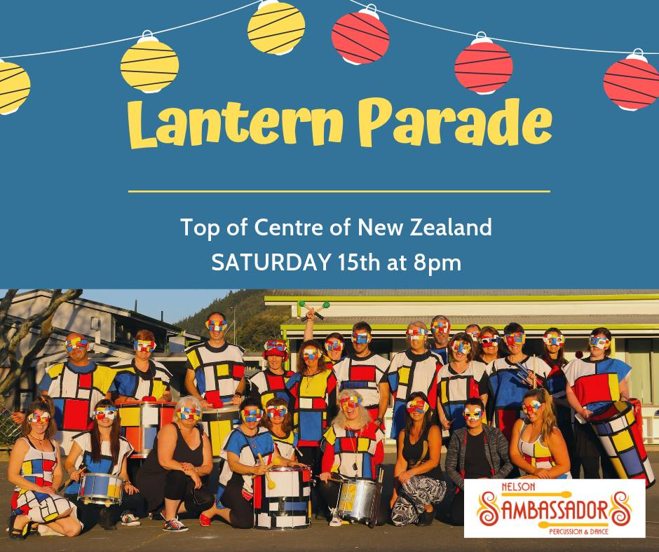 Lantern Parade - Centre of NZ